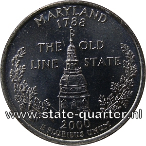 Maryland State Quarter 2000