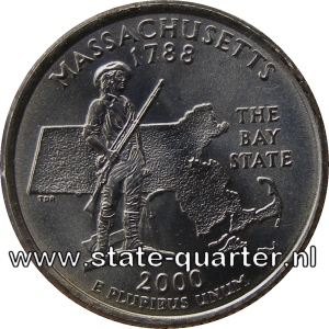 Massachusetts State Quarter 2000