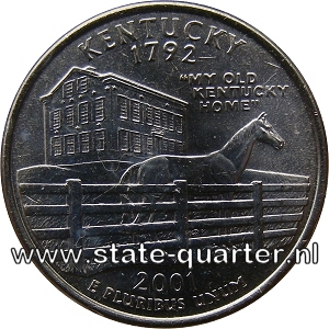 Kentucky State Quarter 2001