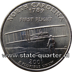 North Carolina State Quarter 2001