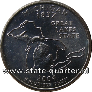 Michigan State Quarter 2004
