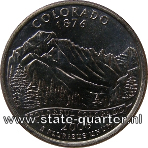 Colorado State Quarter 2006