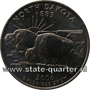 North Dakota State Quarter 2006