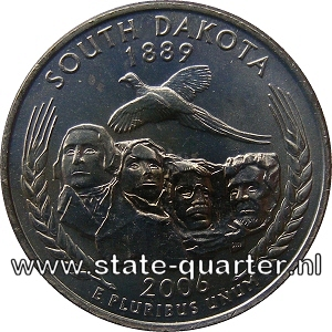 South Dakota State Quarter 2006