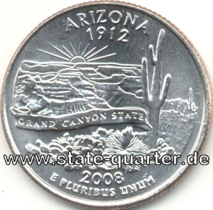 Arizona State Quarter 2008