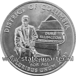 District of Columbia State Quarter 2009